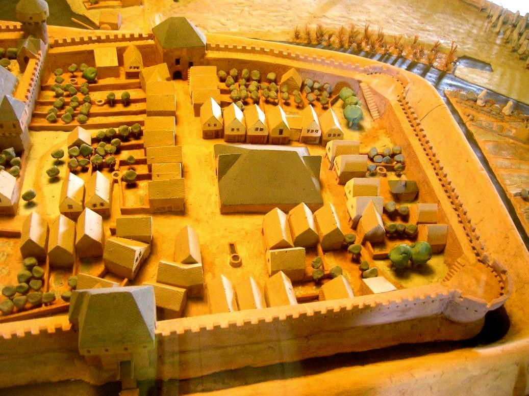 Chateau maquettebassecour 2