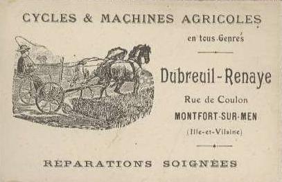 Cycles dubreuil renaye