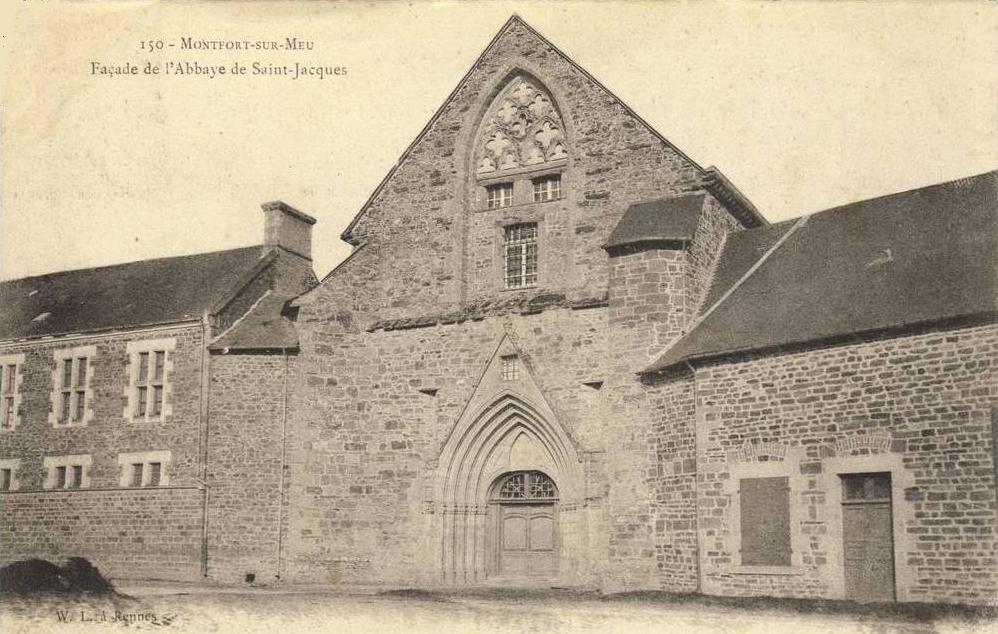 Facade abbaye