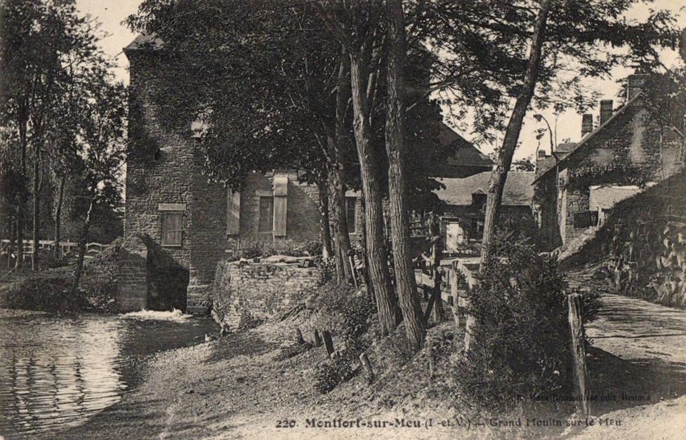 Moulin planches