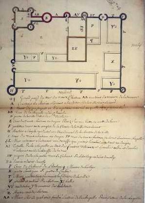 Planville chateau 1715