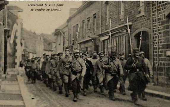 Prisonniers allemands montfort